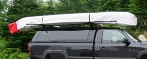168 in. Tubby Canoe Cover in White